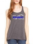 Lady Wildkat Ladies Racerback Tank